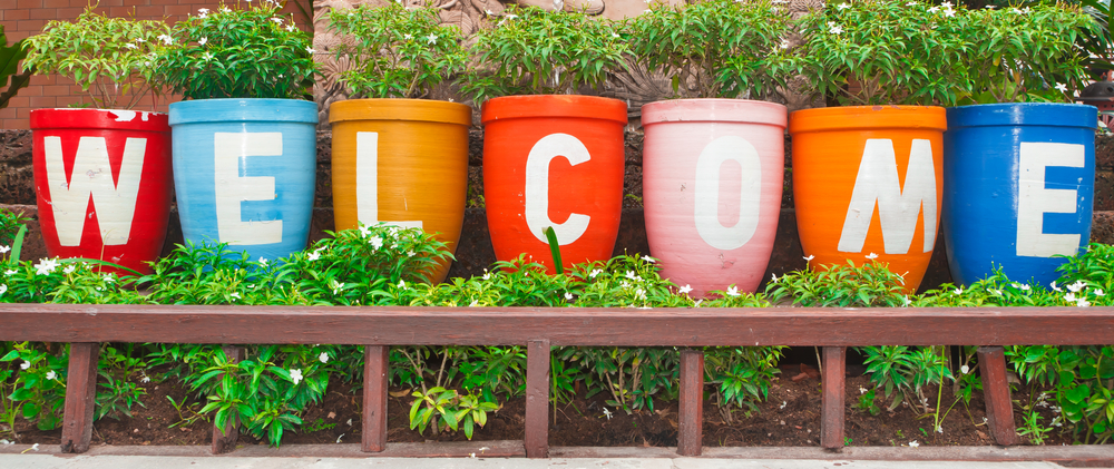 DIY Welcome Sign Ideas 3