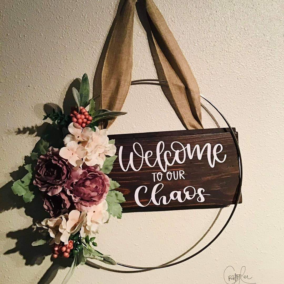 House Welcome Sign Ideas -craftylei2020