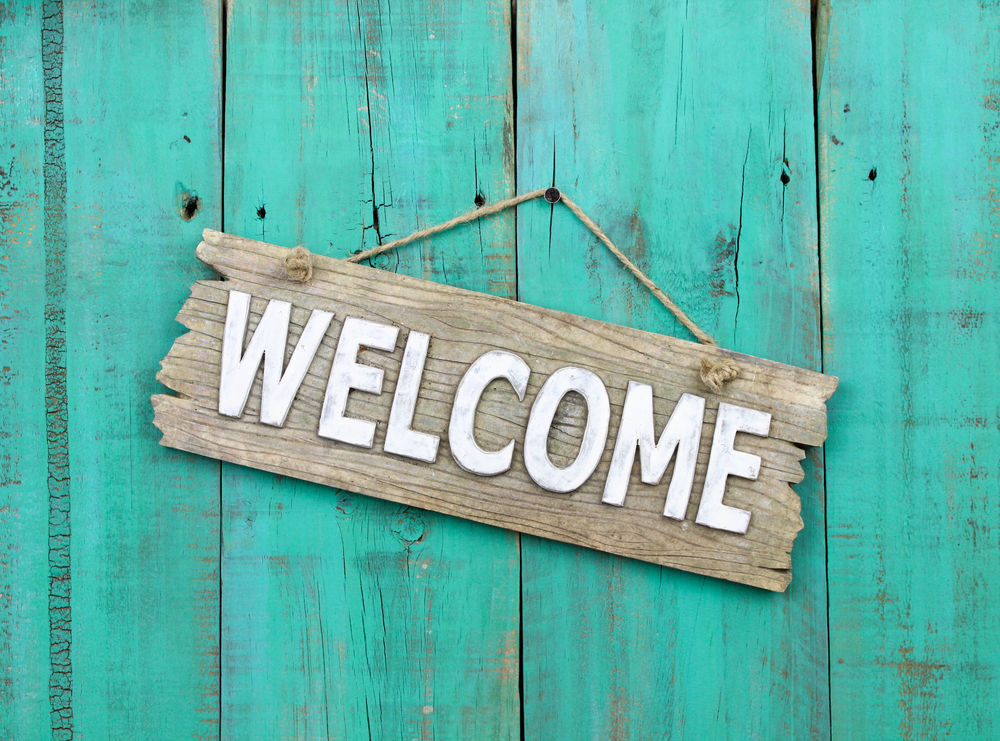 Pallet Welcome Sign Ideas