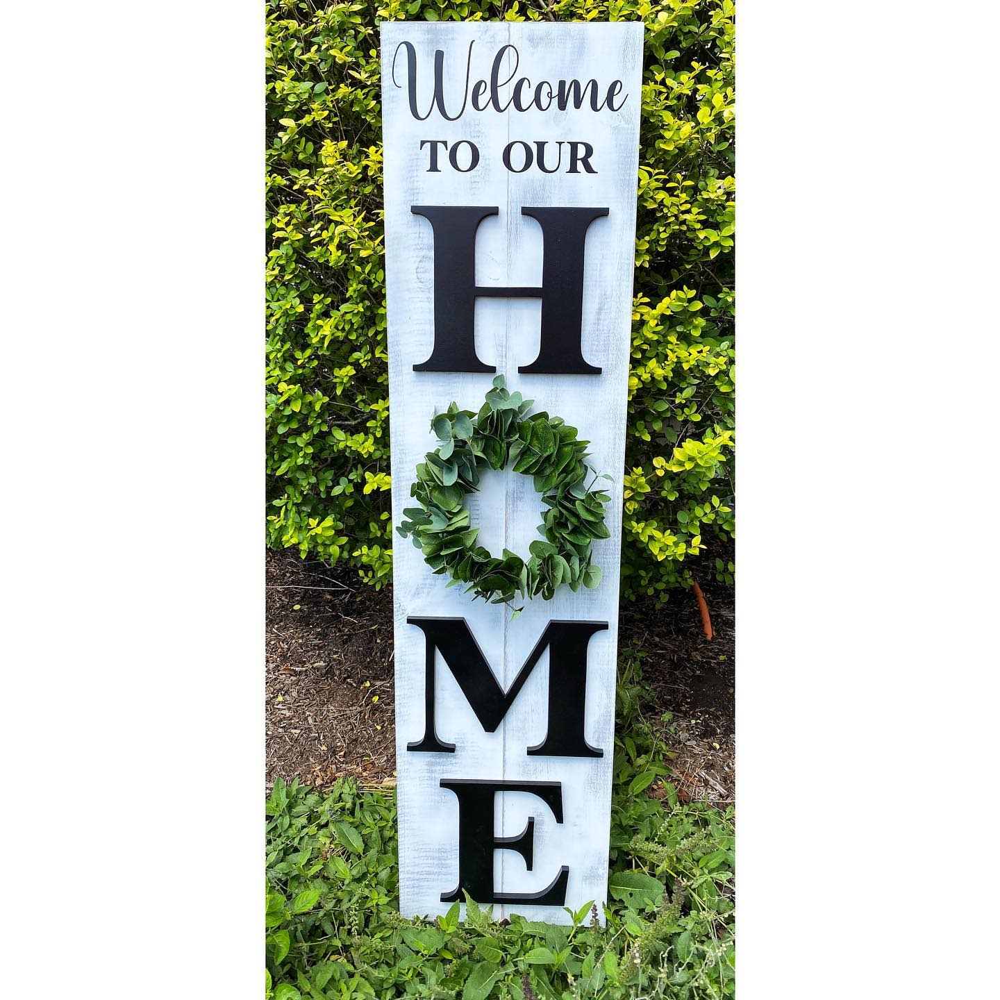Porch Welcome Sign Ideas -richly.crafted