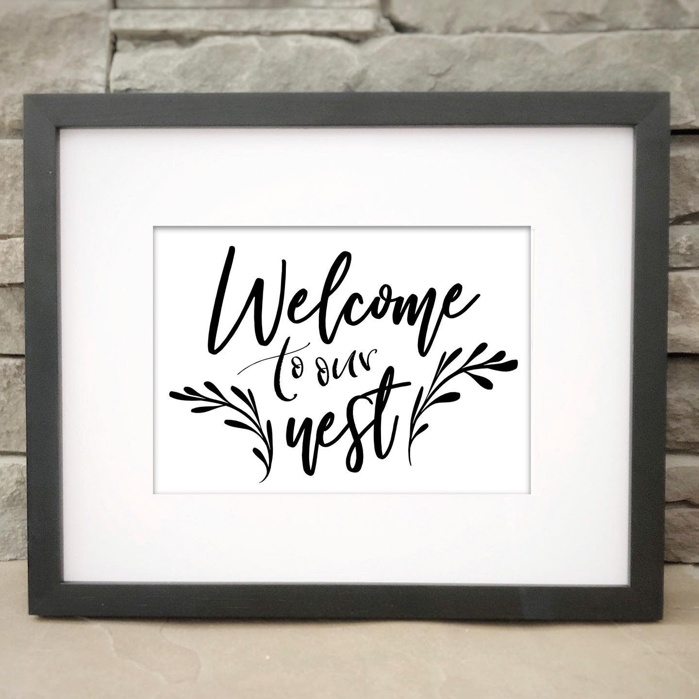 Printable Welcome Sign Ideas -bravenityhandcrafted