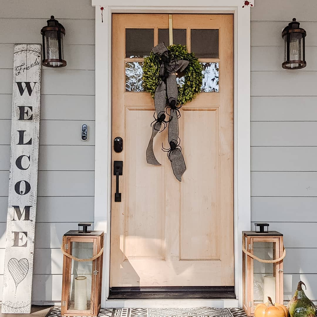 Rustic Welcome Sign Ideas -designwelllivewell