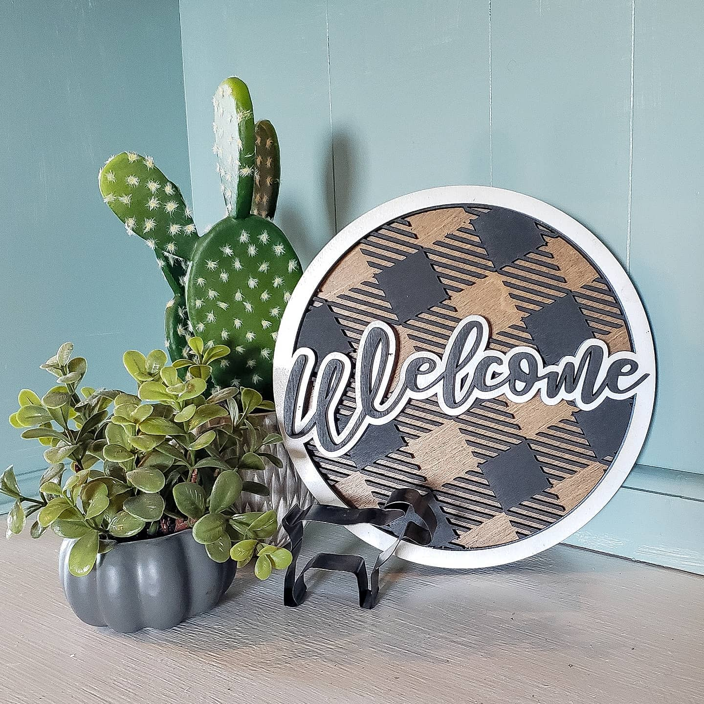 Rustic Welcome Sign Ideas -thistlefrills