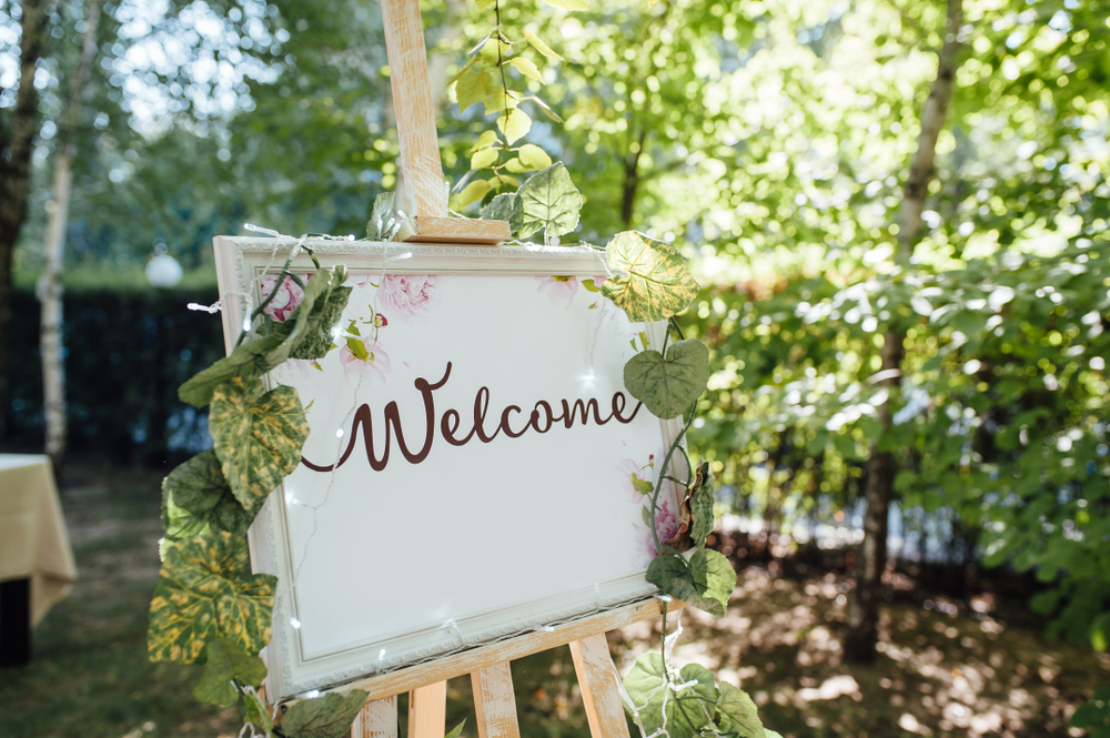 Wedding Welcome Sign Ideas 1