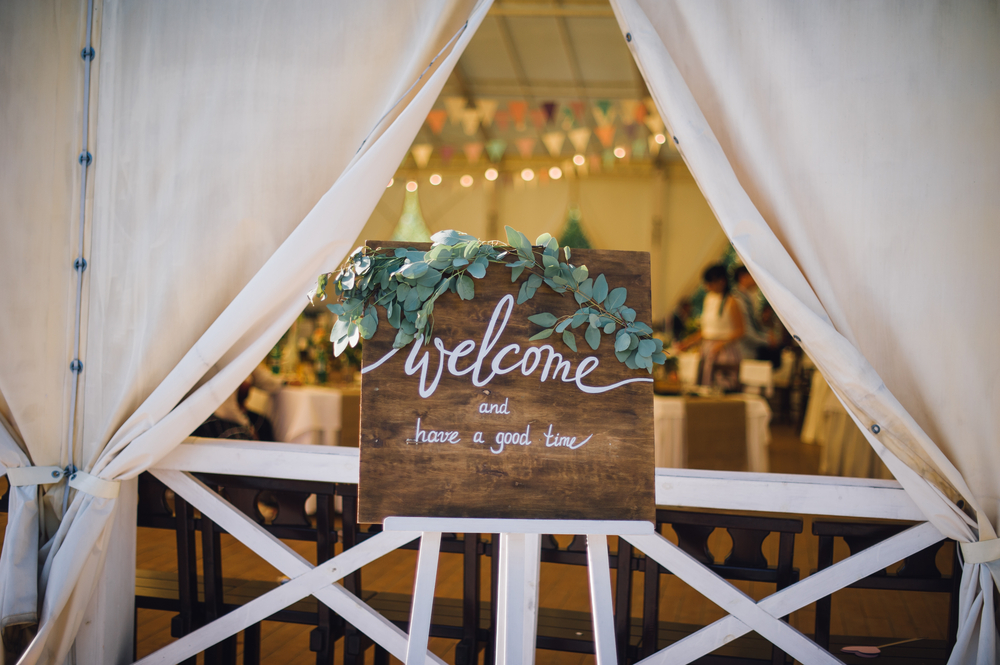 Wedding Welcome Sign Ideas 2