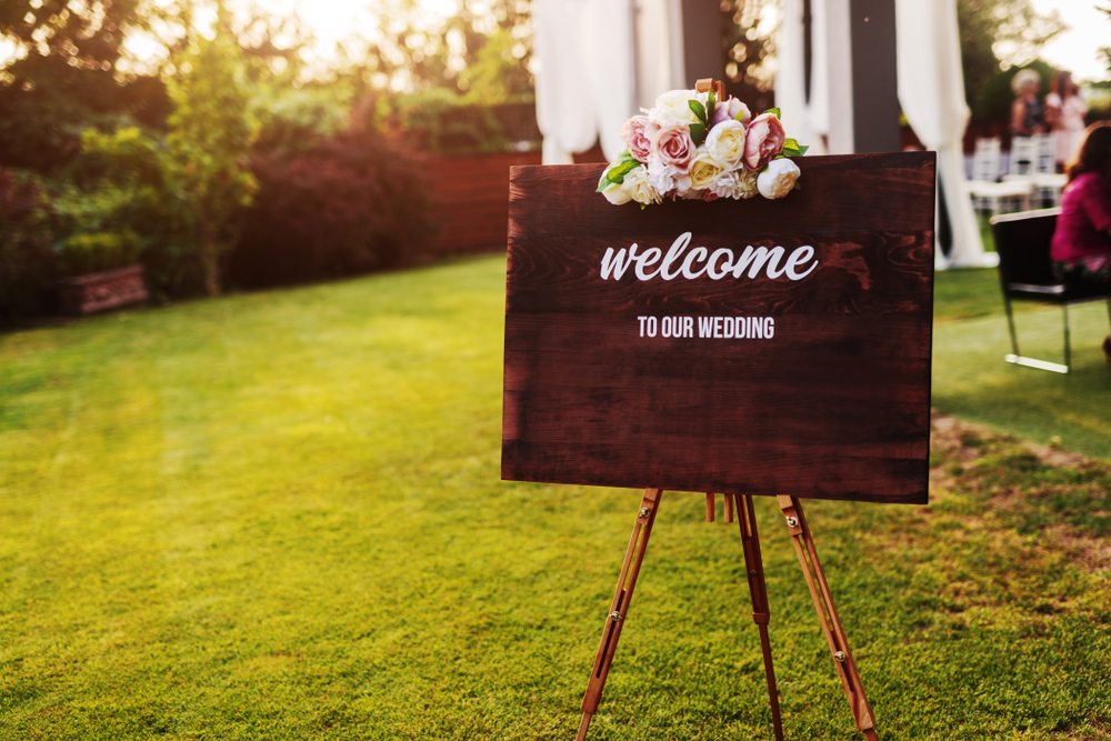 Wedding Welcome Sign Ideas 4