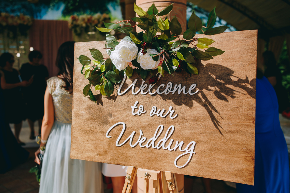 Wedding Welcome Sign Ideas 6