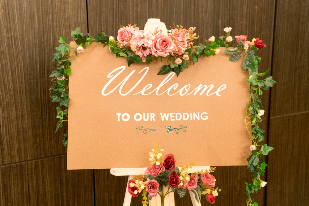 Wedding Welcome Sign Ideas 8