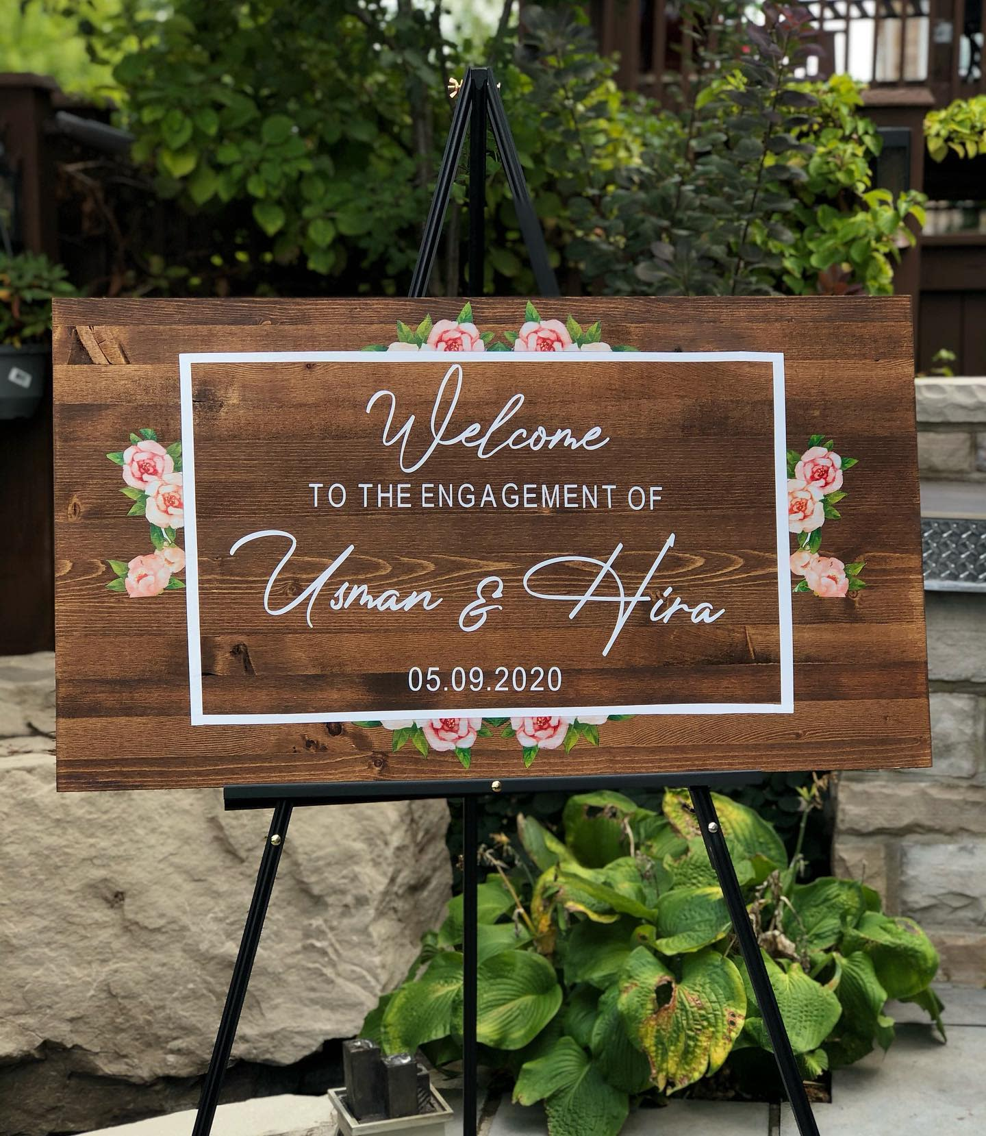 Wood Welcome Sign Ideas -printedbyp