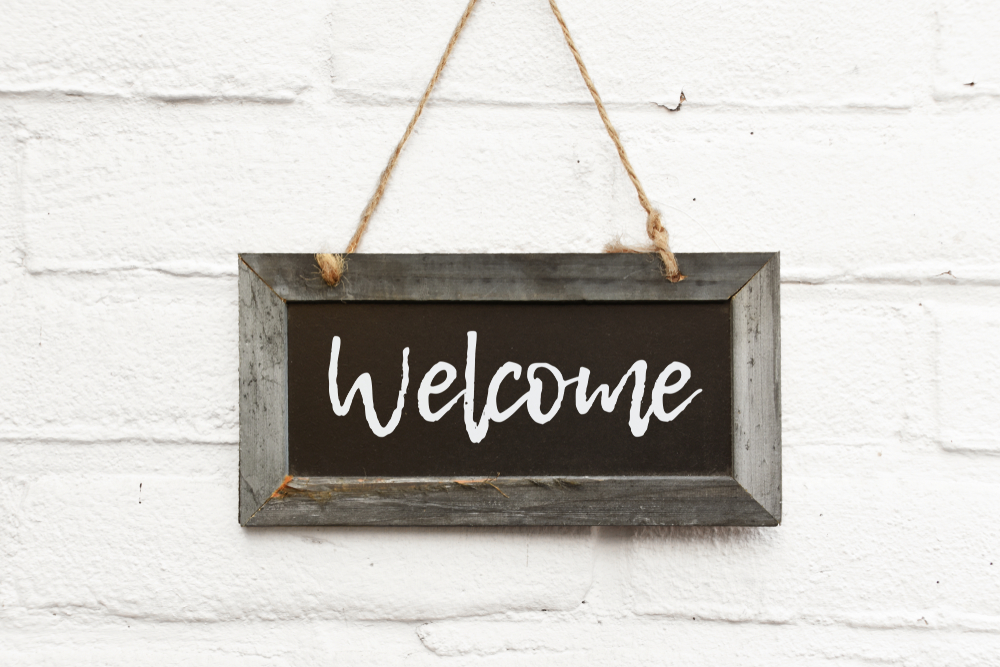 Wood Welcome Sign Ideas 1