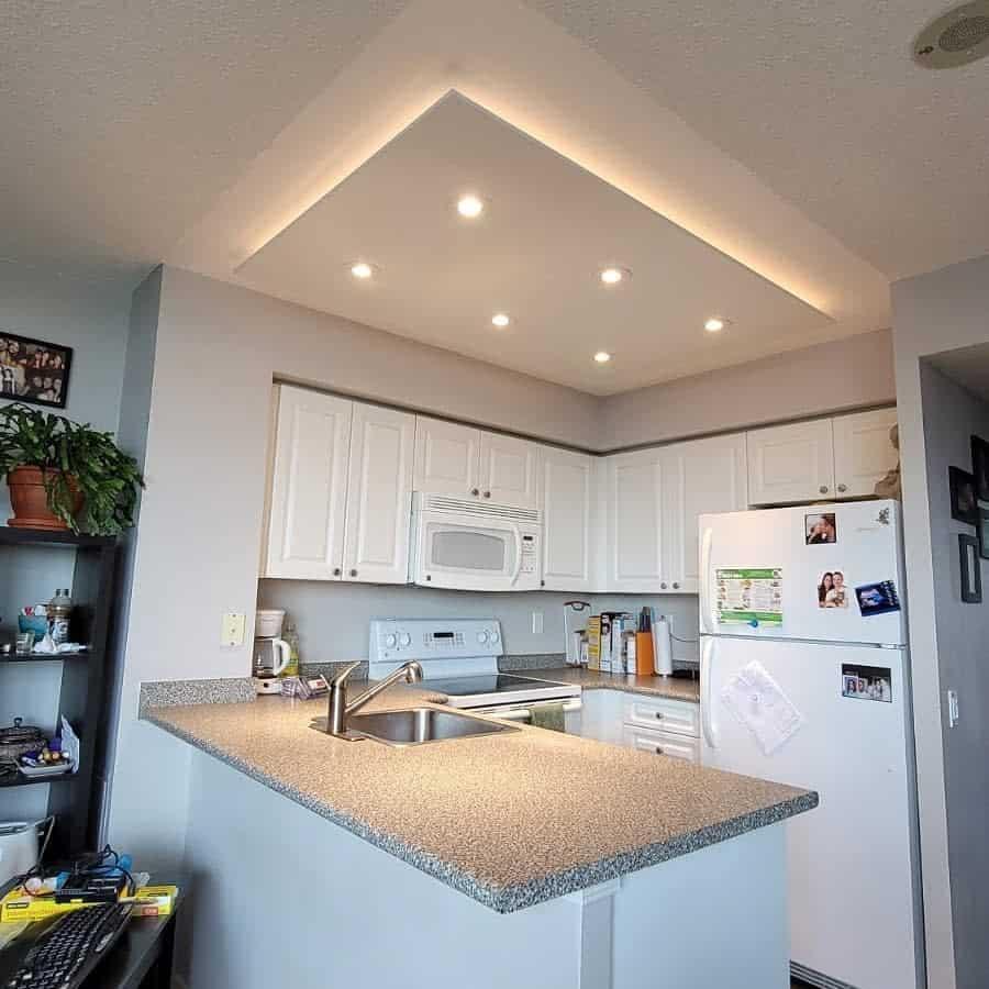 White Kitchen Shelf Ideas -condopotlight