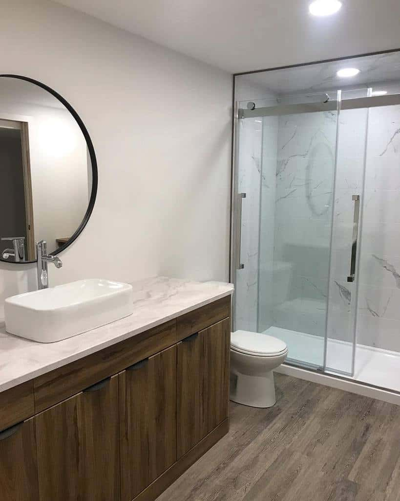 White Wet Room Ideas -flipping.firsttimers