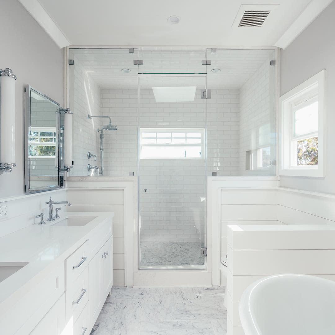 White Wet Room Ideas -inhance_interiors