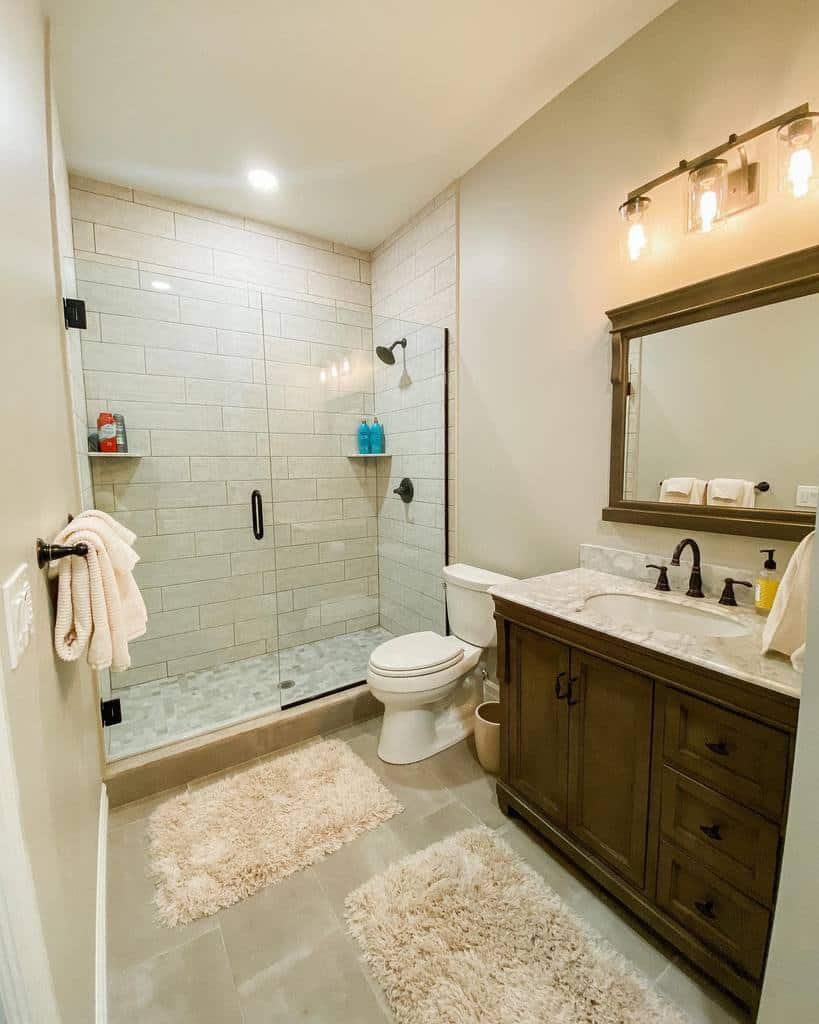 White Wet Room Ideas -majestichomesolutions