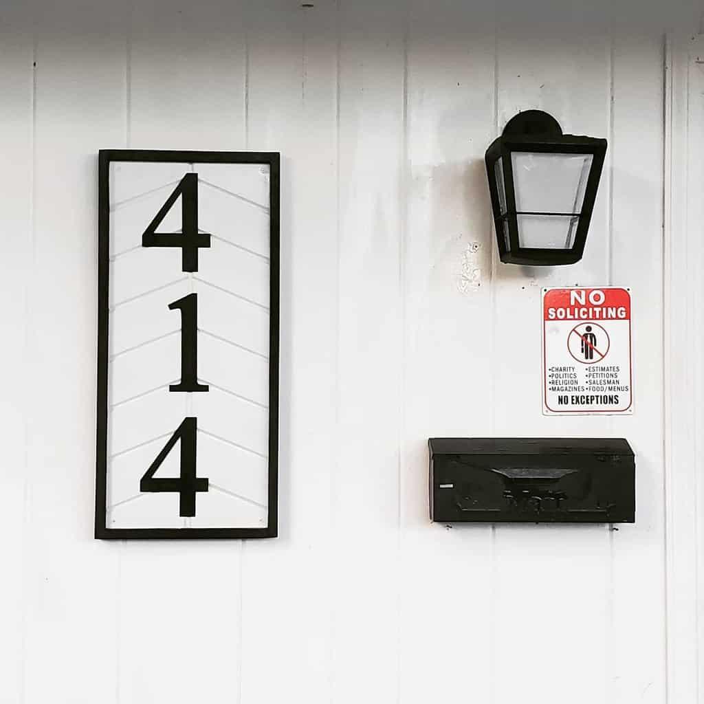 Wood House Number Ideas -daedalus_design_richland