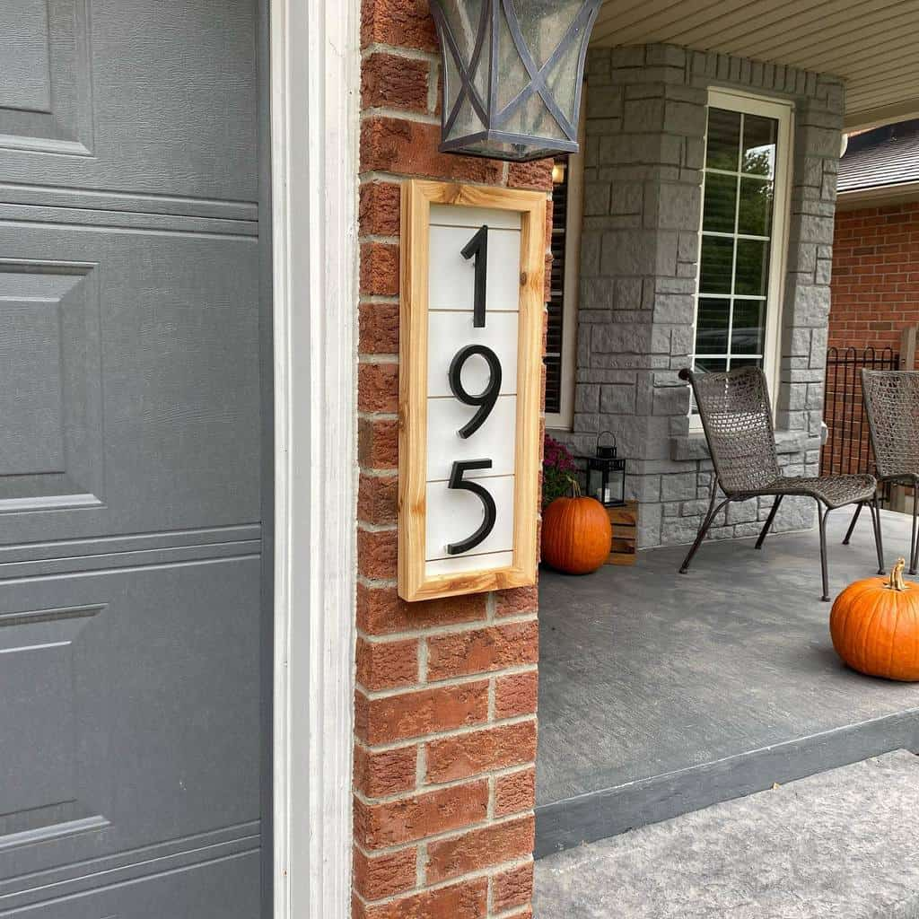 Wood House Number Ideas -thecuriouscarpenter