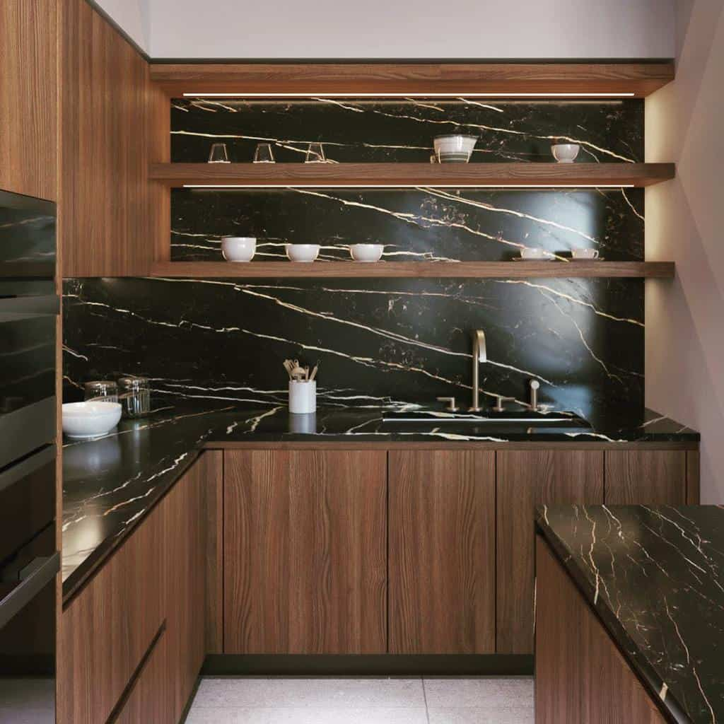 Wood Kitchen Shelf Ideas -gregoryhitchcockdesign