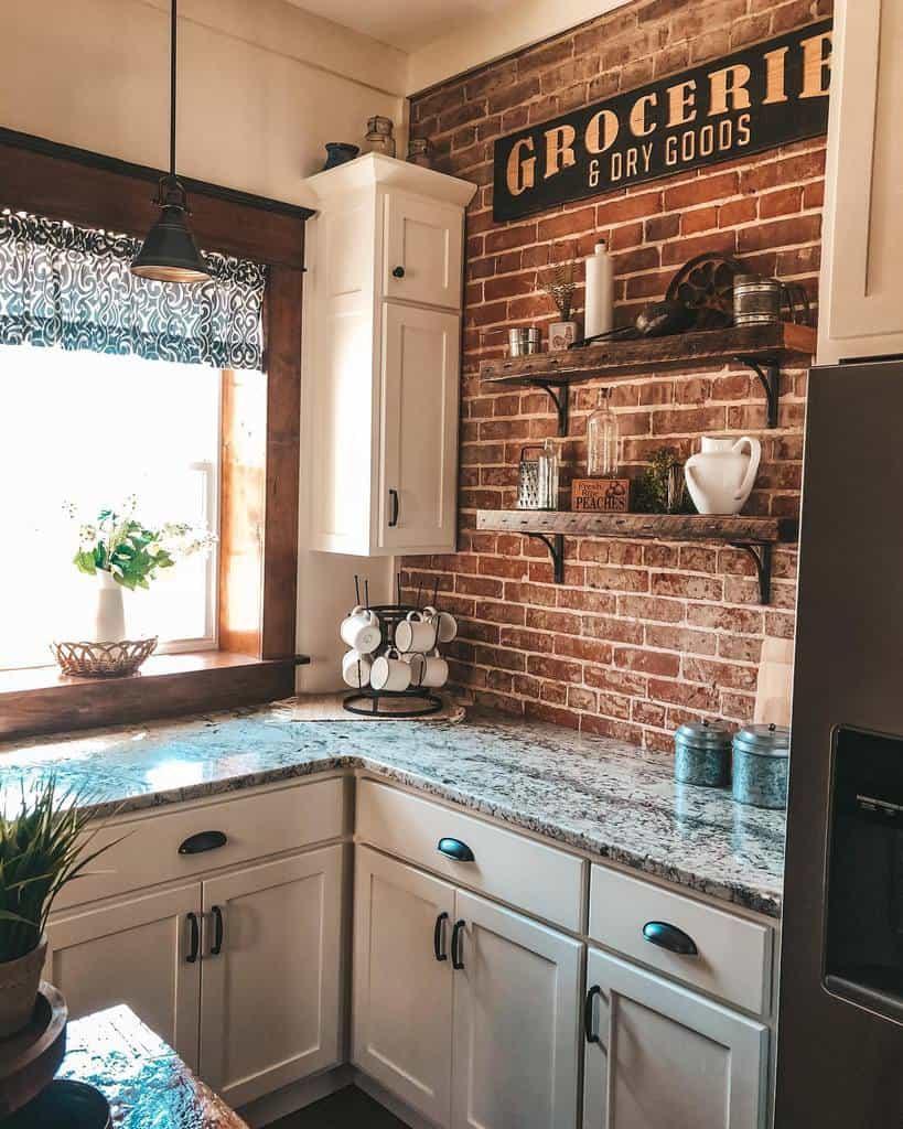 Wood Kitchen Shelf Ideas -villageviewsuites