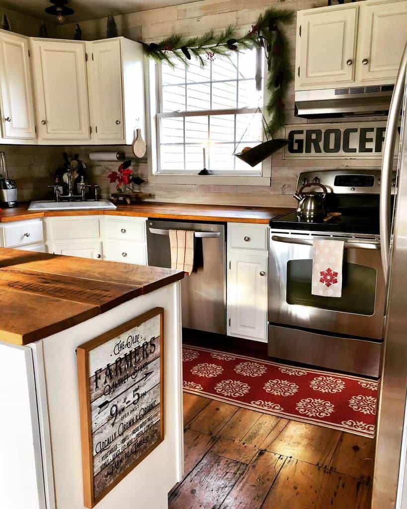 Wooden Countertop Ideas -thelongawaitedhome