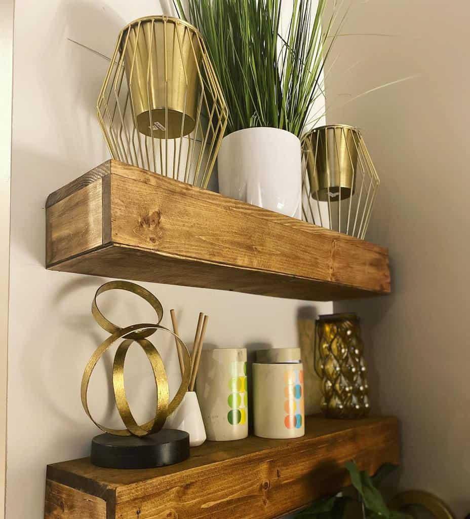 Wooden Floating Shelves Ideas -demjohnsonshome
