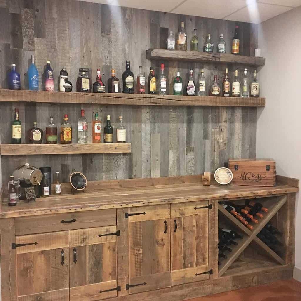 Wooden Floating Shelves Ideas -dustylumberco