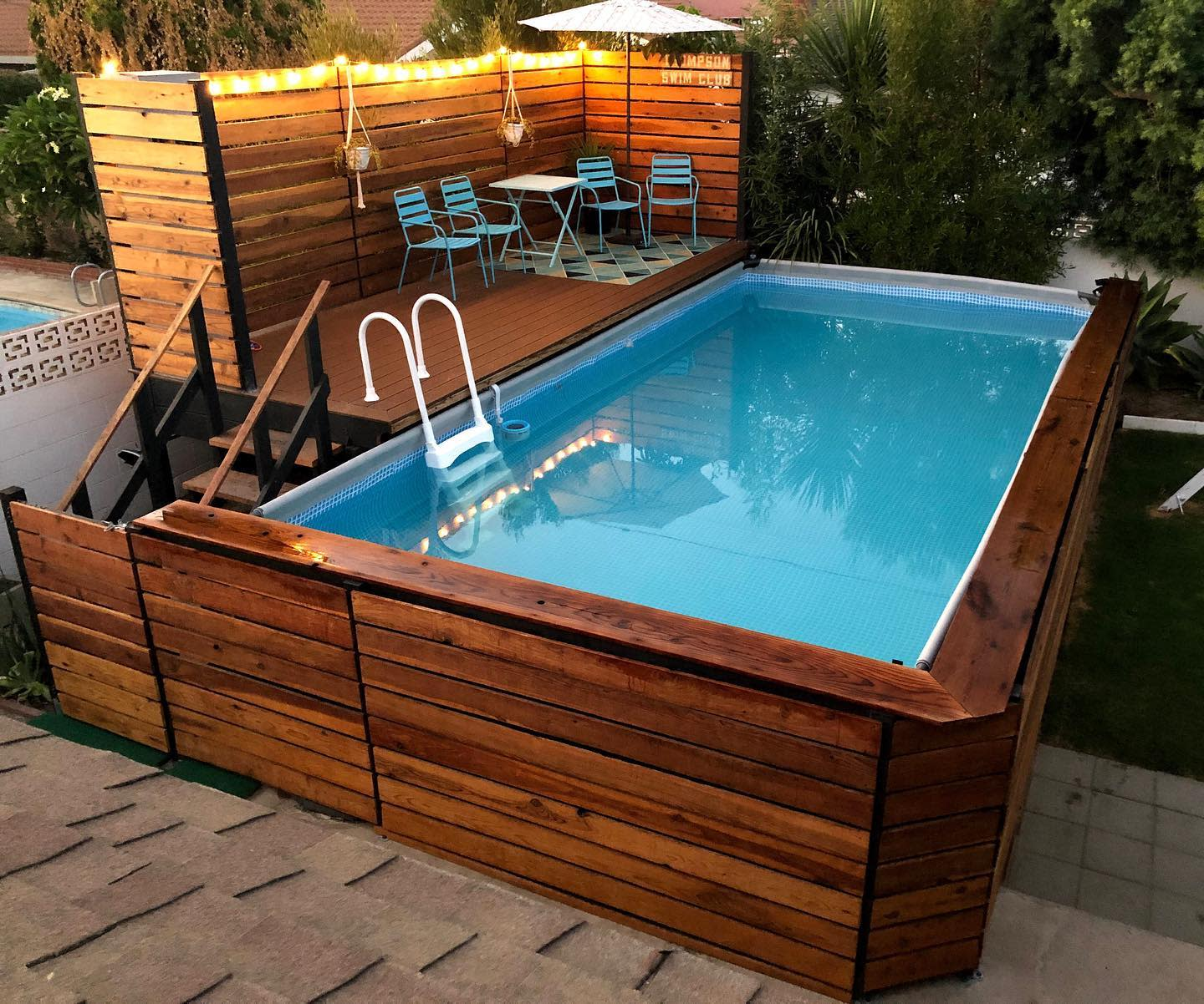 The Top 20 Above Ground Pool Ideas