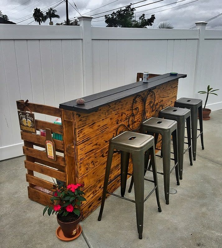 Pallet Backyard Bar Ideas -there_goes_nic_again