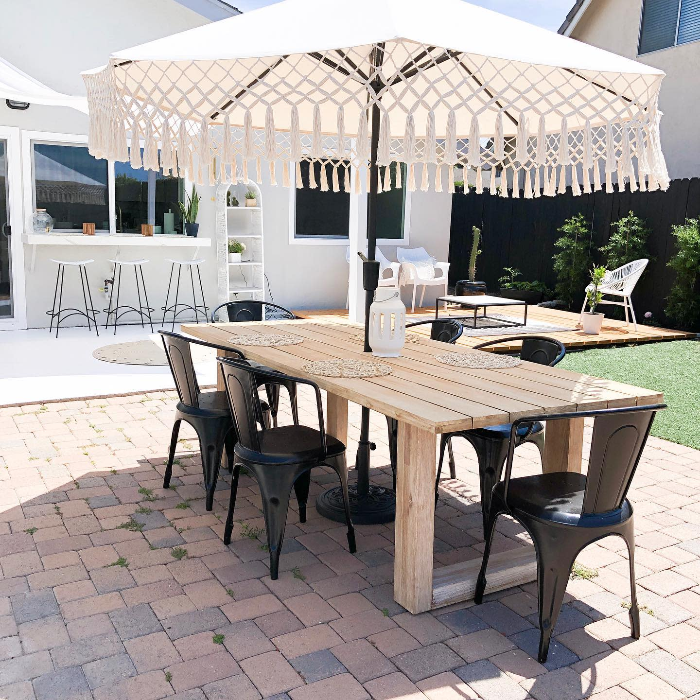 Dining Backyard Ideas on a Budget -maggie_minhas_at_home