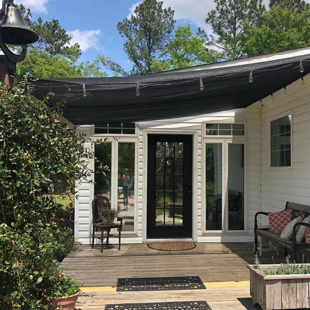 Porch Breezeway Ideas -thankfulhomeliving