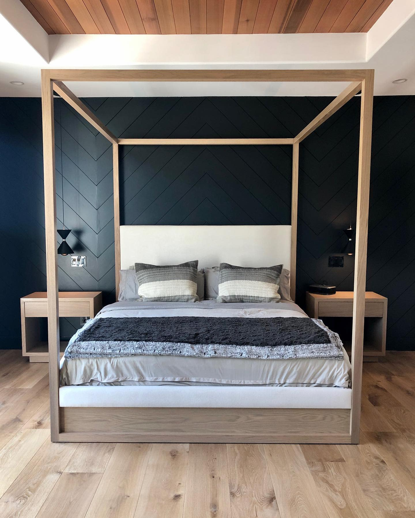 Wood Canopy Bed Ideas -weegohome