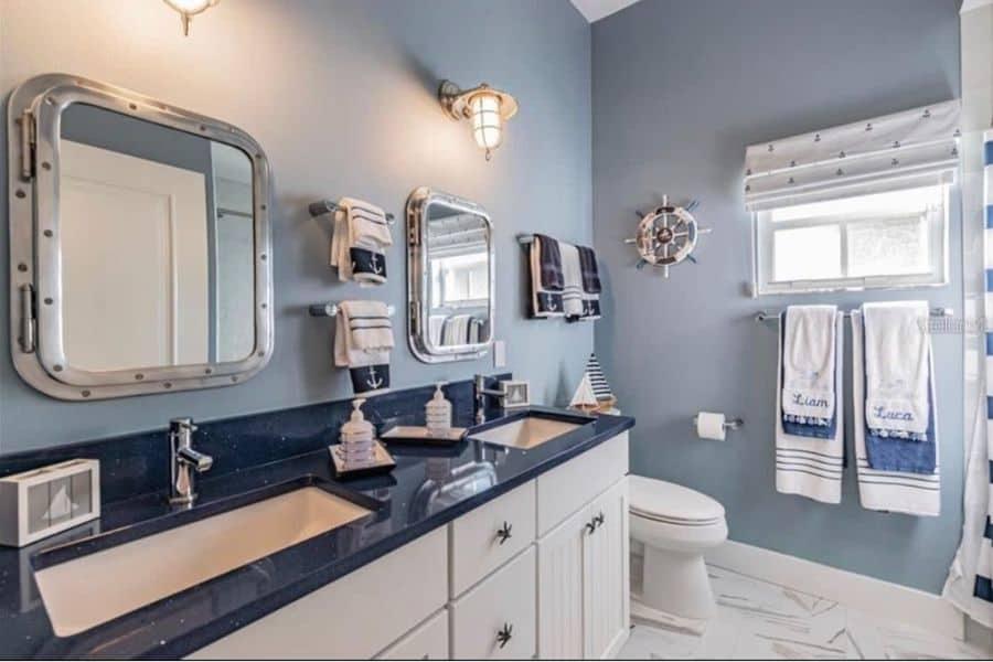 The Top 34 Coastal Bathroom Ideas