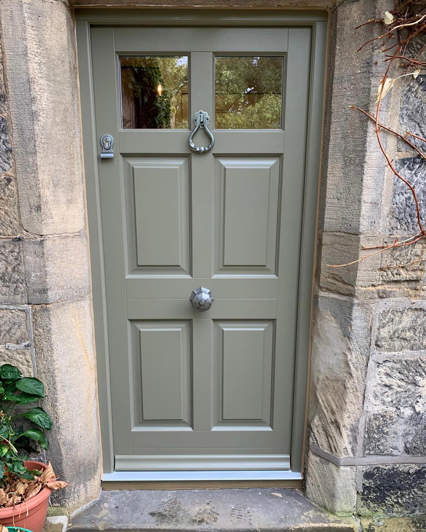 Neutral Front Door Color Ideas -timberwindows_north