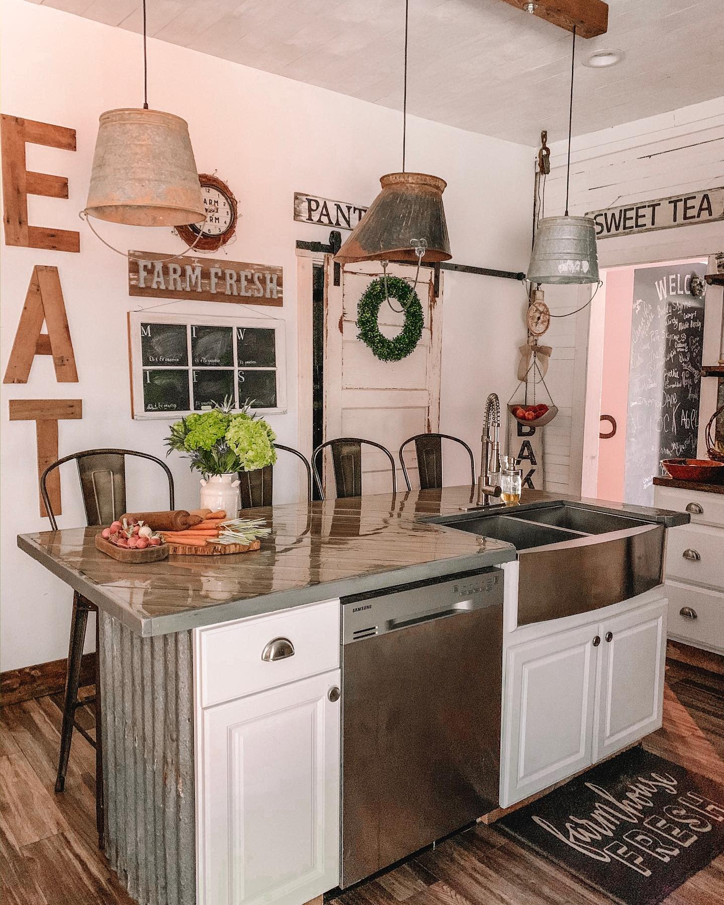 Island Kitchen Sink Ideas -brownies_forever_farmhouse