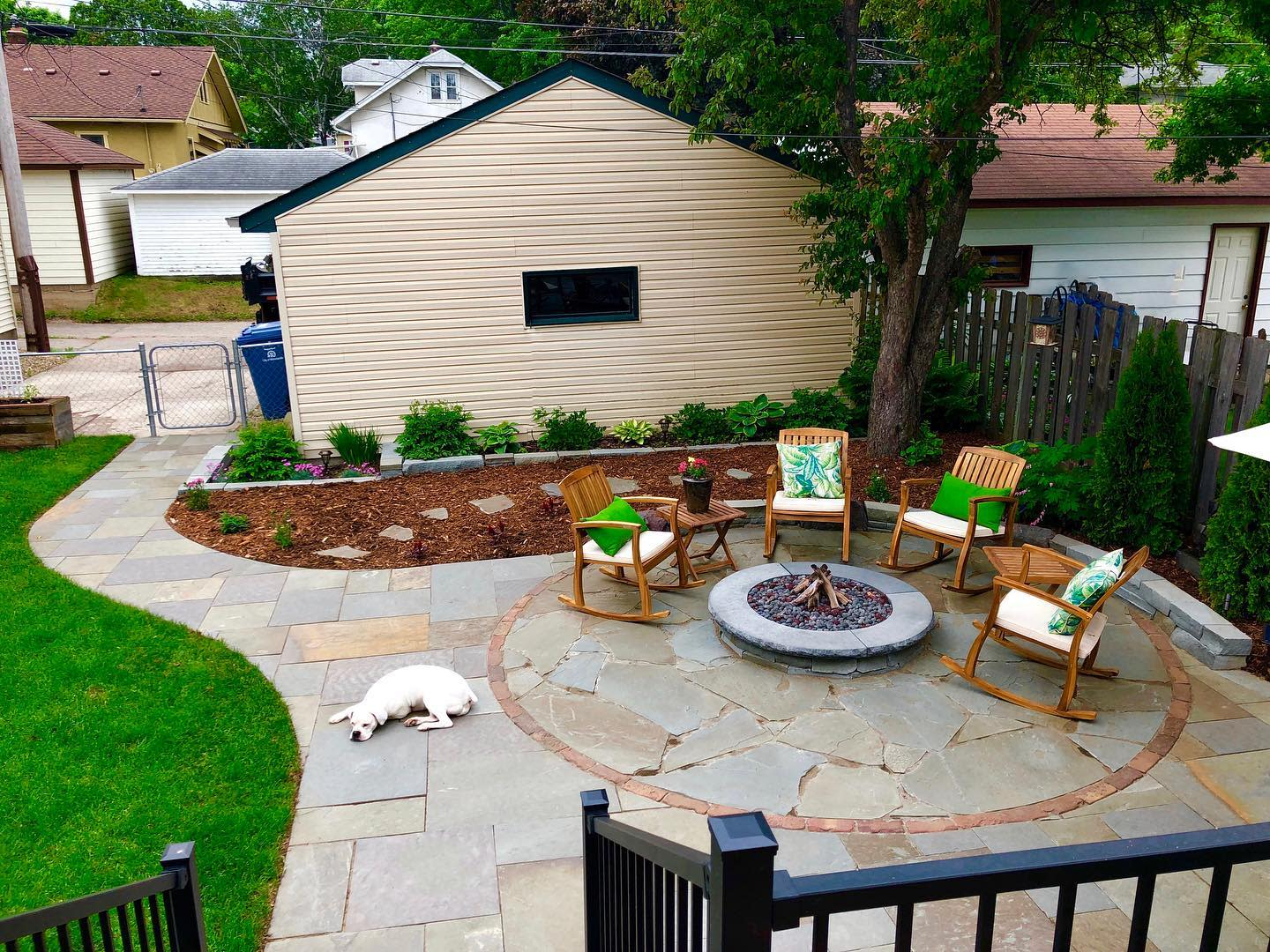 Garden Outdoor Room Ideas -stonearchlandscapes