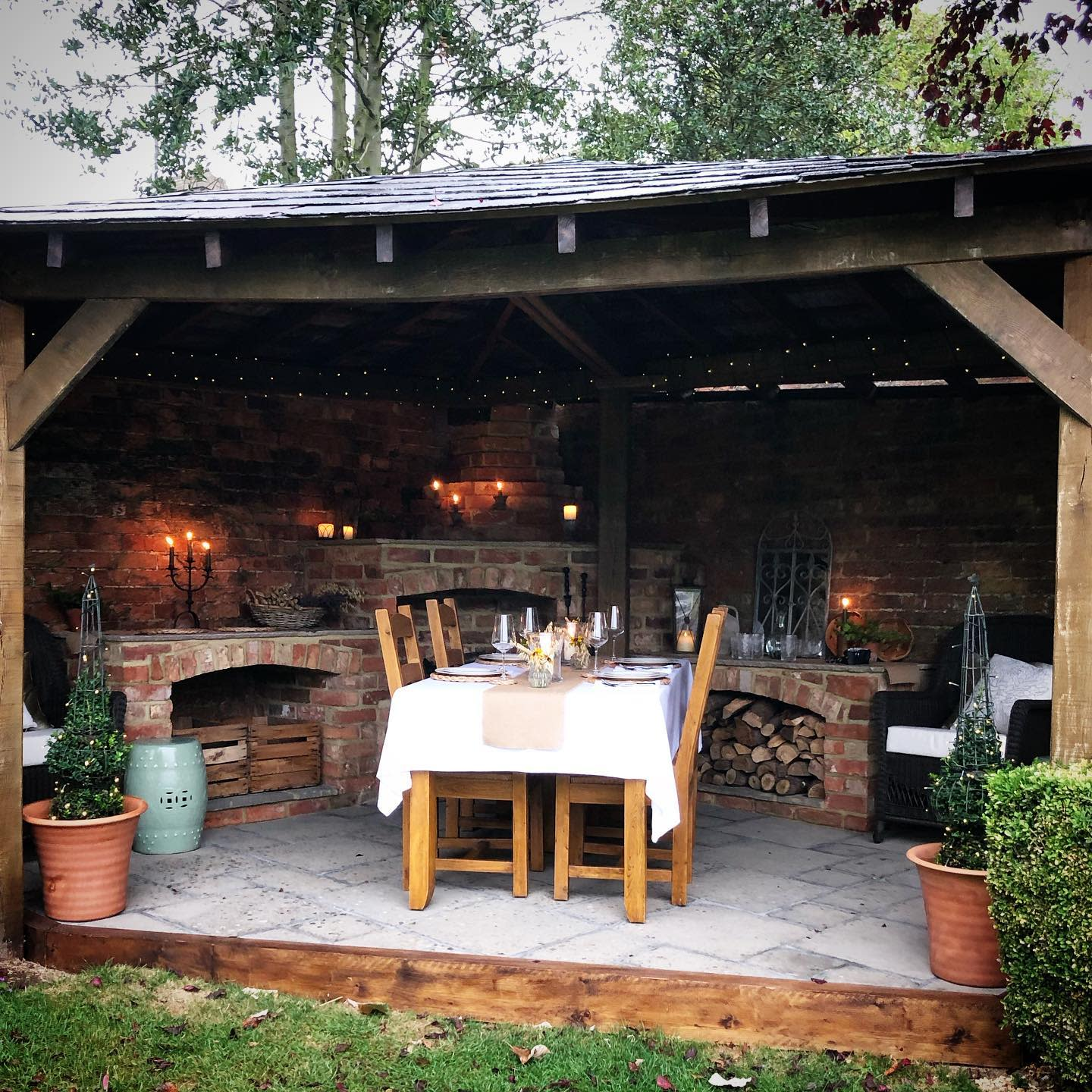 Rustic Outdoor Room Ideas -katy_at_the_manor