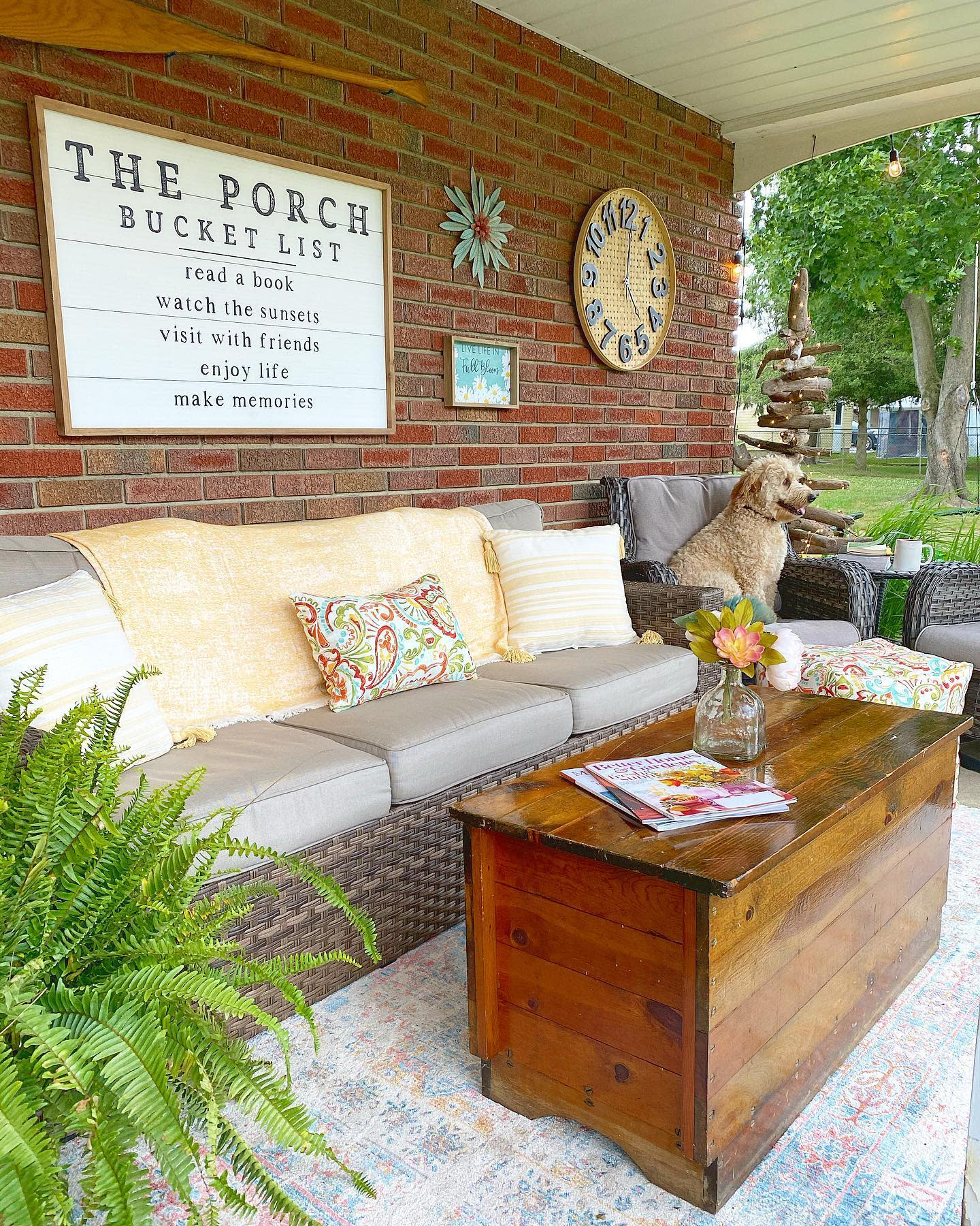 Fence Outdoor Wall Decor Ideas -tighedtogetherdesigns