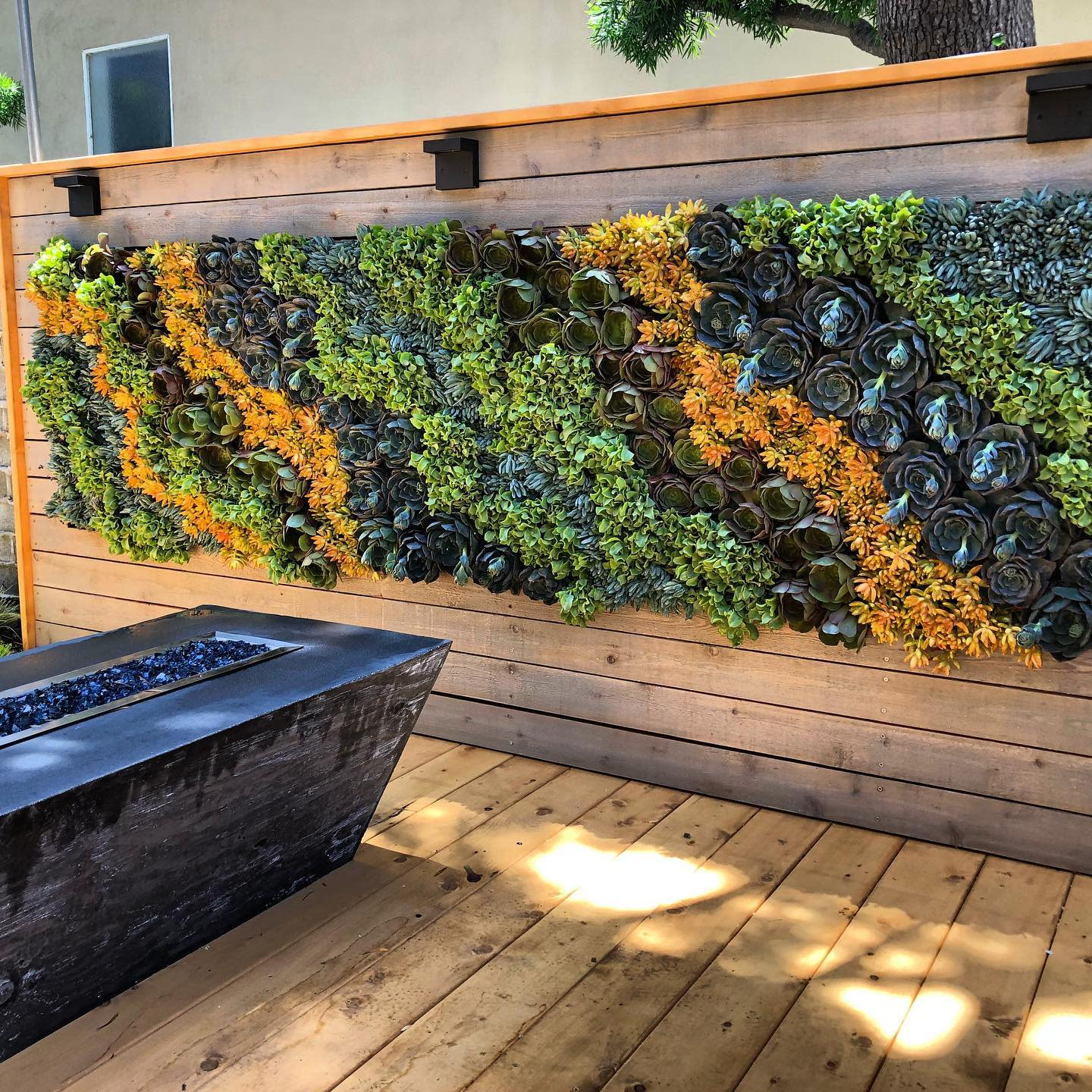 Plant Outdoor Wall Decor Ideas -mikepyledesign