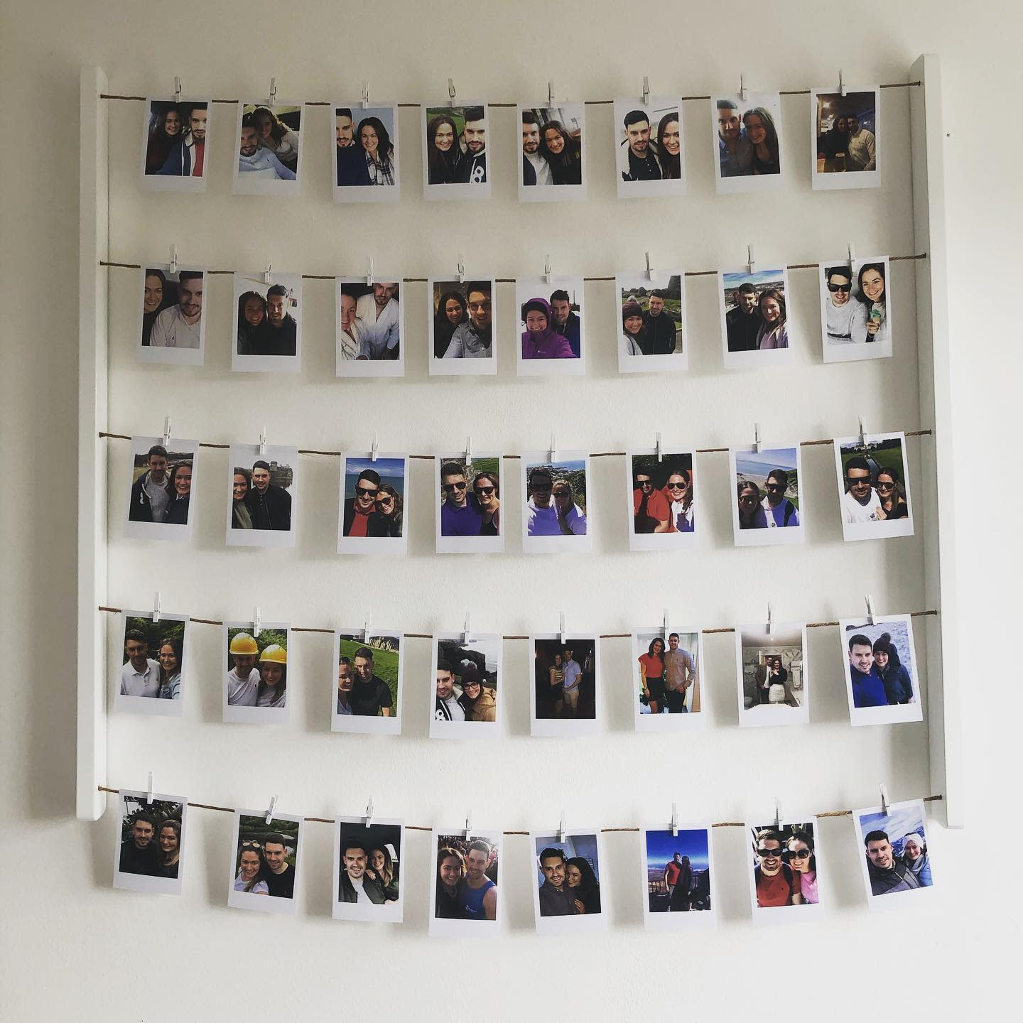 Polaroid Photo Display -our_new_home_at39