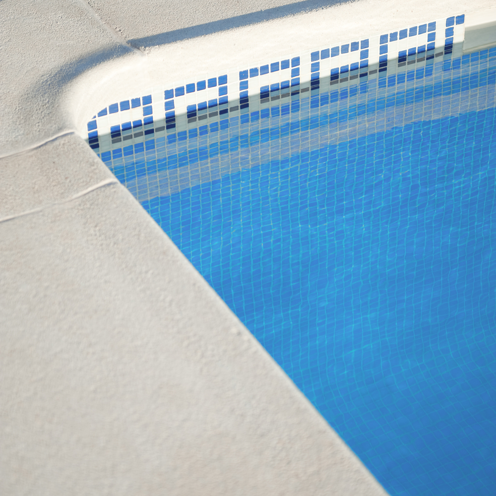 Poured-in Concrete Pool Coping Ideas 1