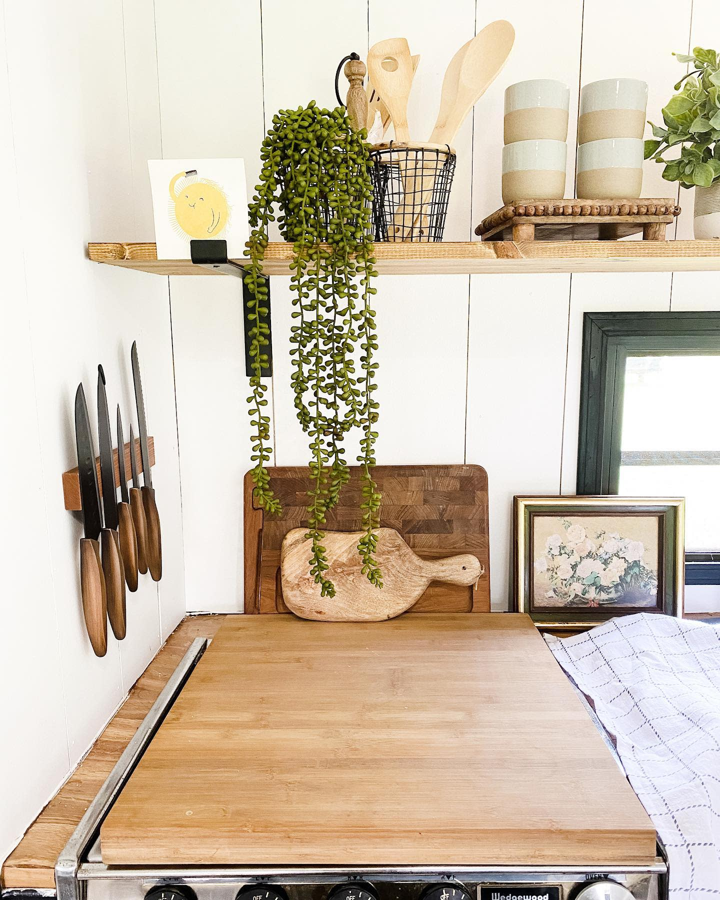 Kitchenette RV Decorating Ideas -linen.and.lumber