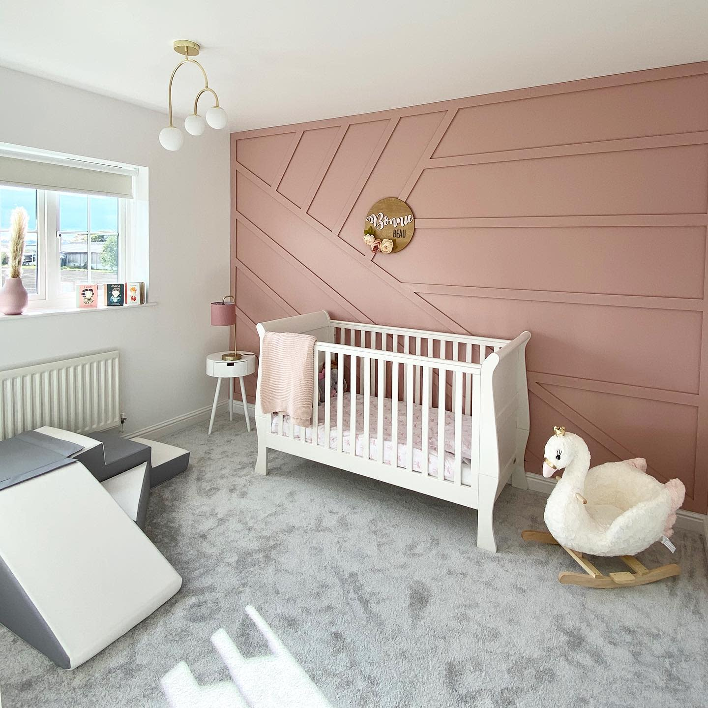 Accent Wall Trim Ideas 2 -at_the_barkers