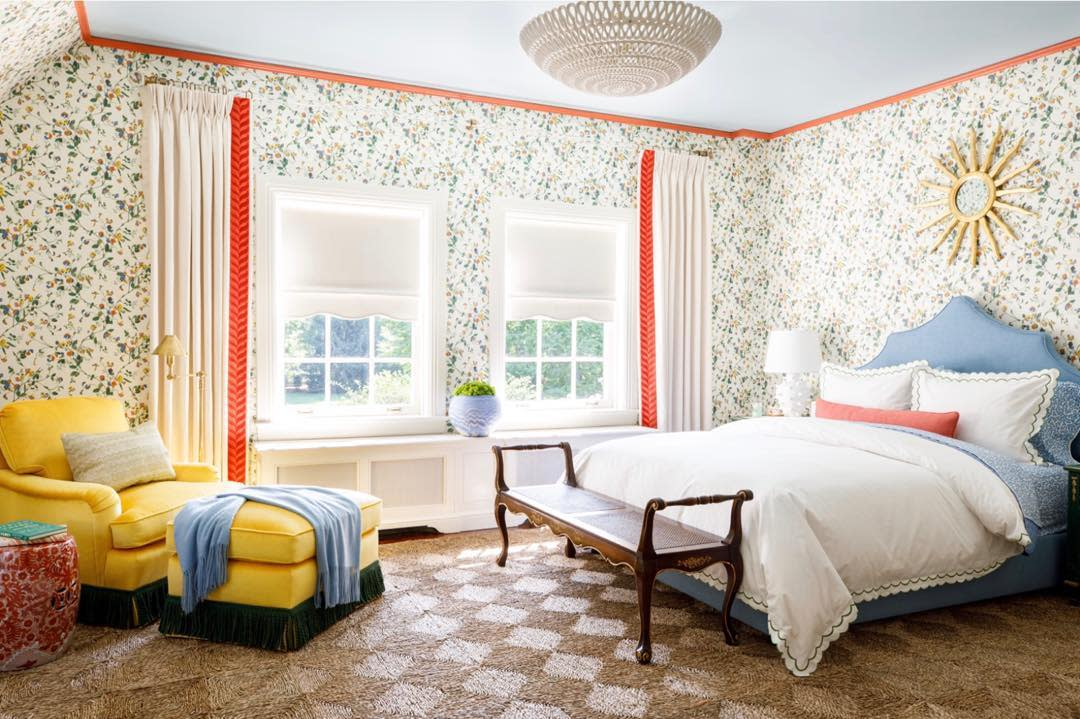 Bedroom Wallpaper Ideas -cynthiamcculloughinteriors