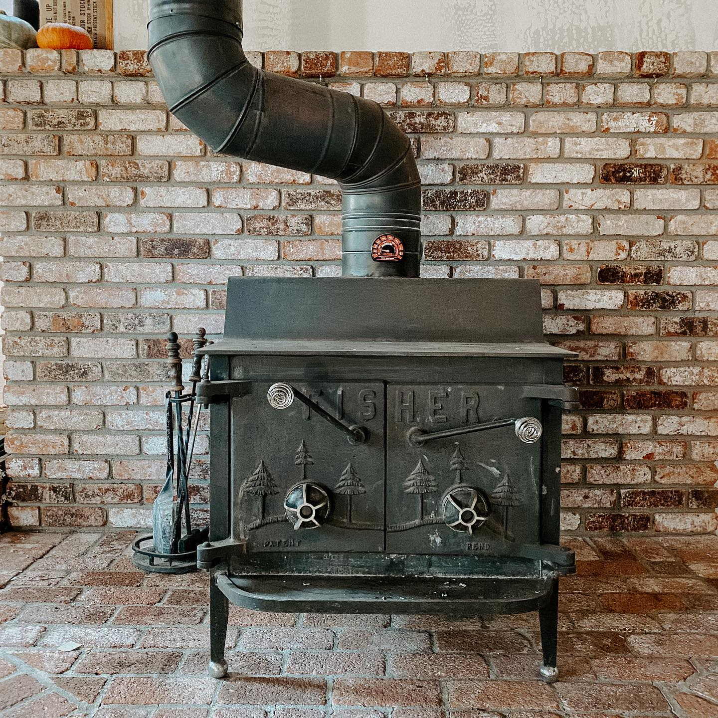 Rustic Wood Stove Hearth Ideas -therootedhomestead
