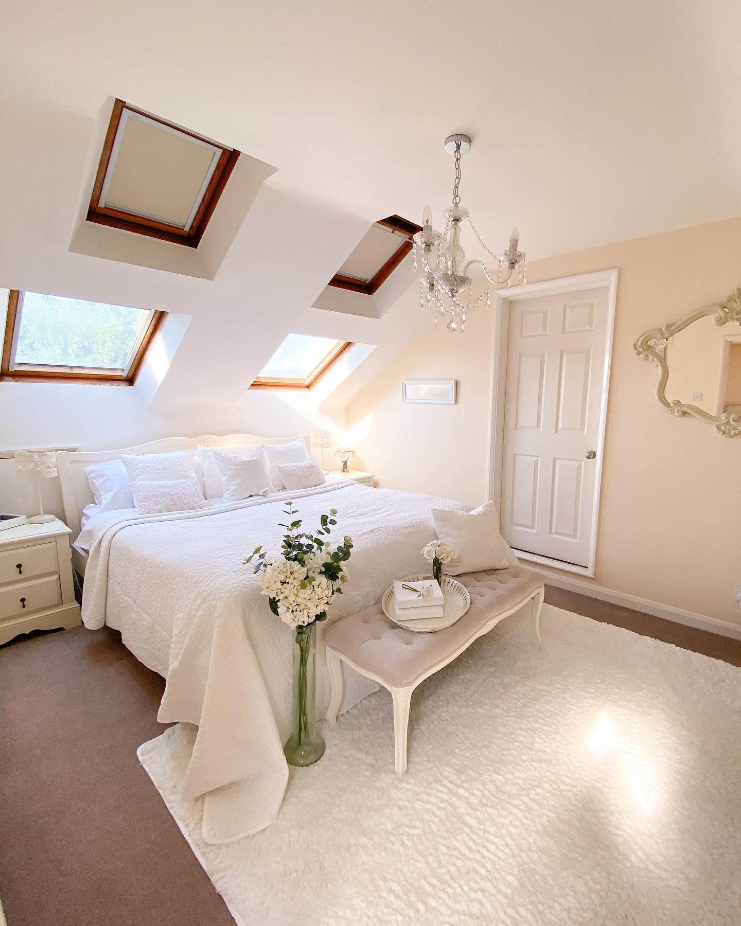 Girls Attic Bedroom Ideas -ourchaletbungalow