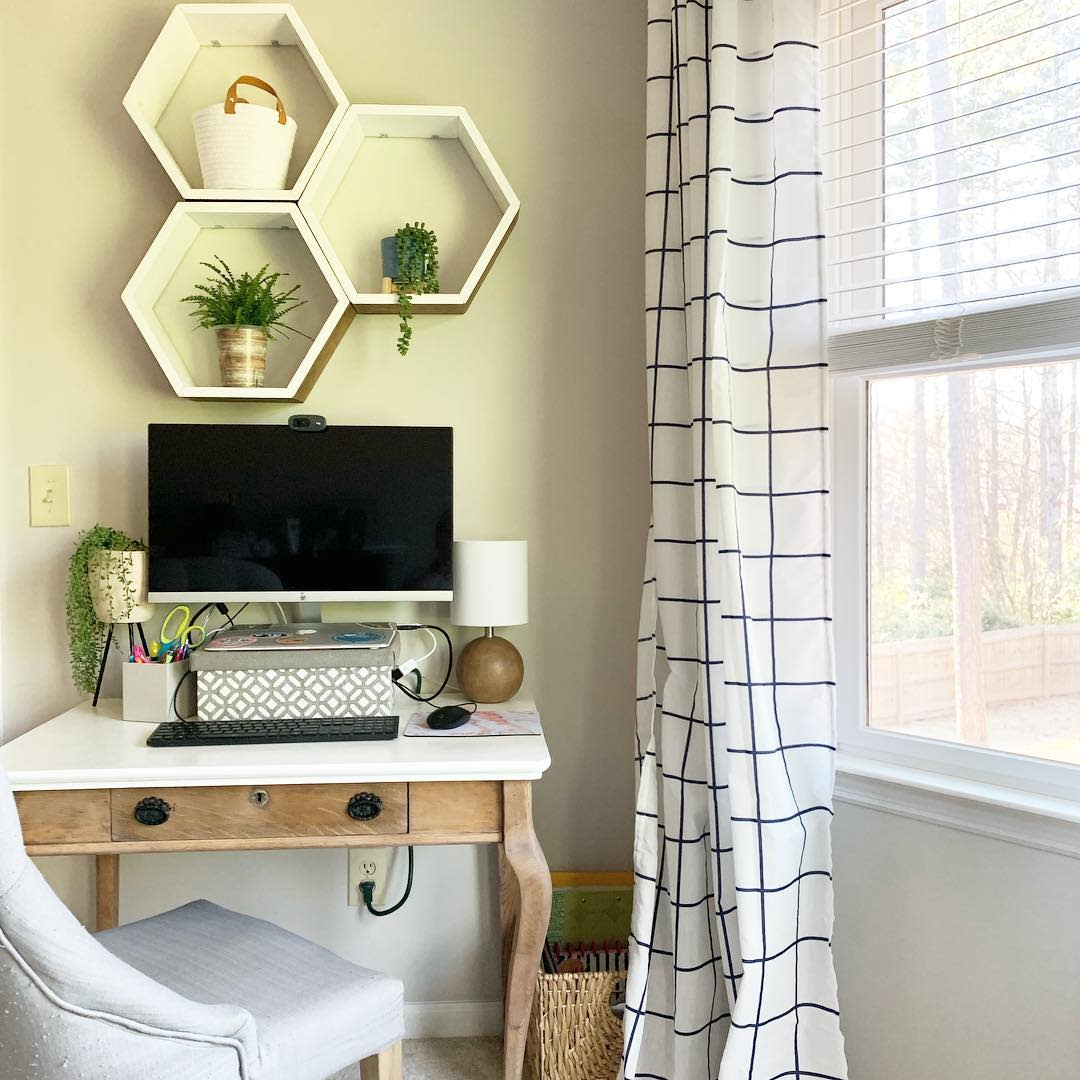 DIY Bedroom Office Ideas -home_down_south