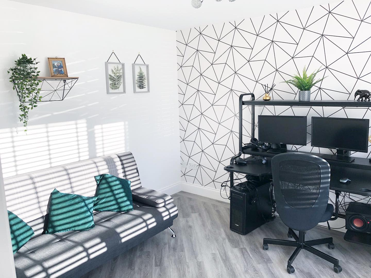 Bedroom Office Design Ideas -the_wright_home