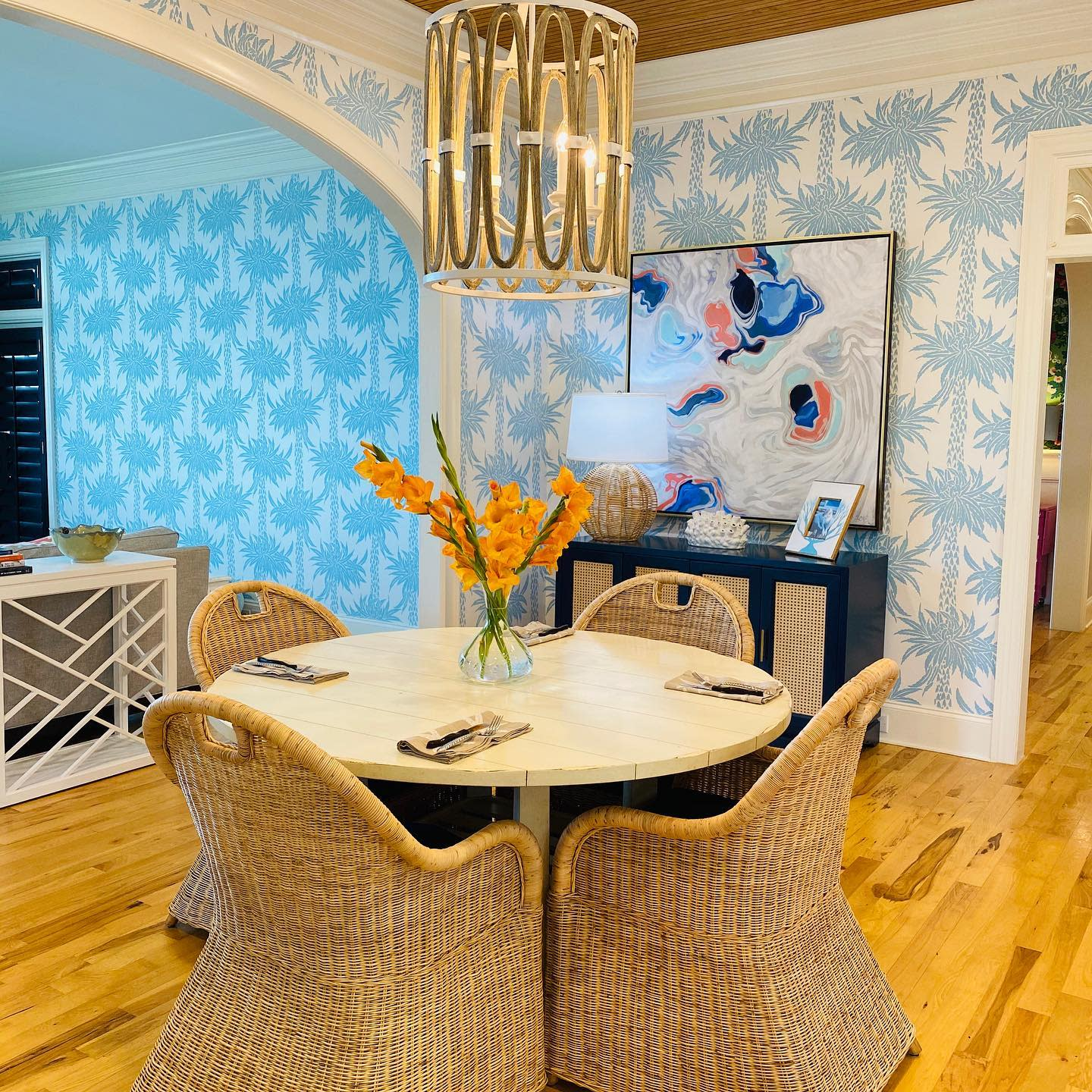 Boho Dining Room Lighting Ideas -boothparkerstyle