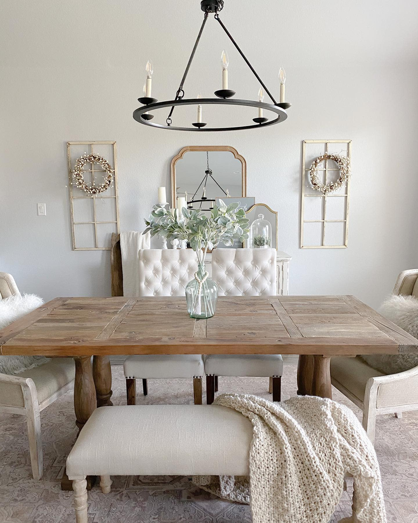 Candle Dining Room Lighting Ideas -my.blessed.home