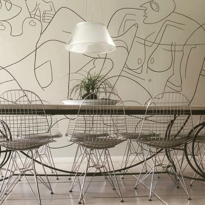 Accent Dining Room Wall Decor Ideas -lifeasweknowit_interiors