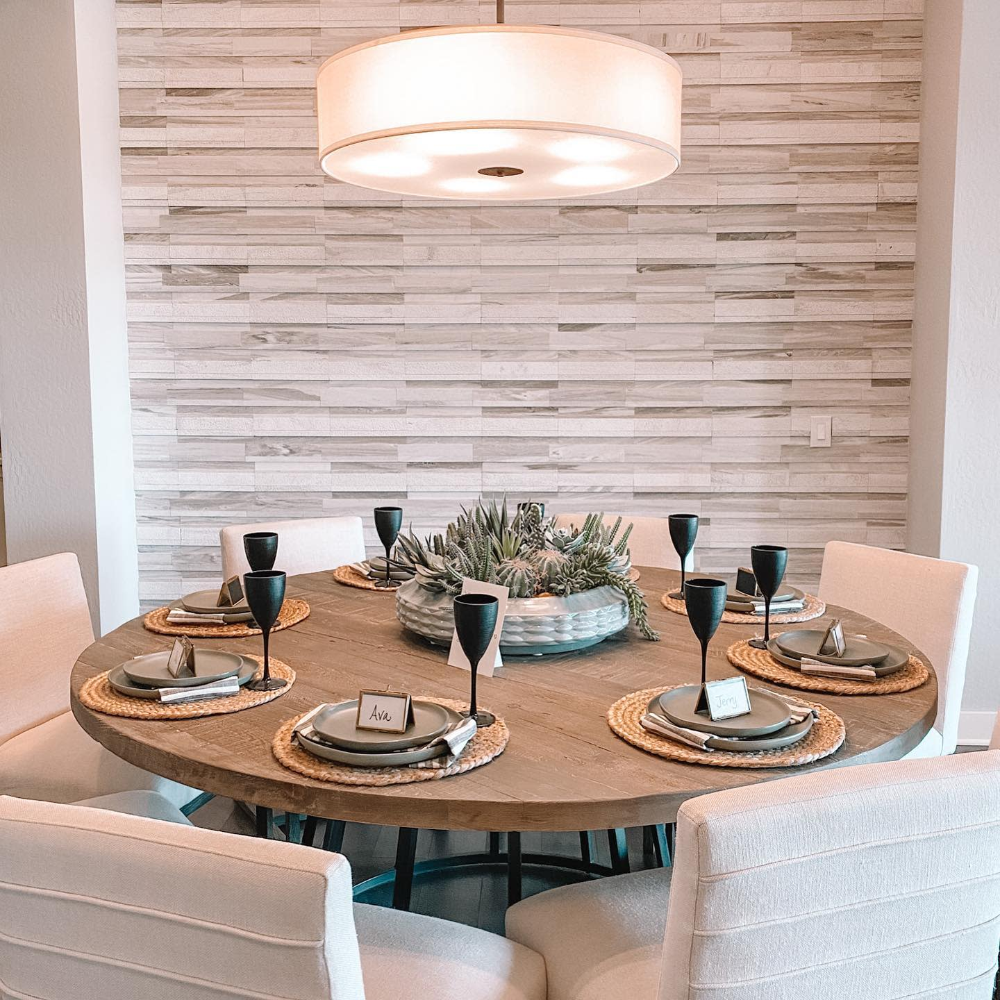 Accent Dining Room Wall Decor Ideas -lovely_residences